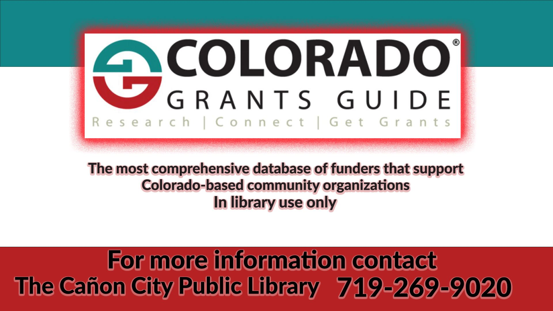 colorado grant guide flyer